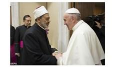 Đức Giáo Hoàng gặp Đại giáo sĩ Hồi giáo Ai Cập