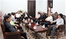 Ban Tôn giáo Chính phủ thăm Tòa TGM TGP TPHCM
