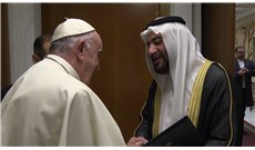 Pope Francis meets with Saudi Arabian representative in the Vatican
