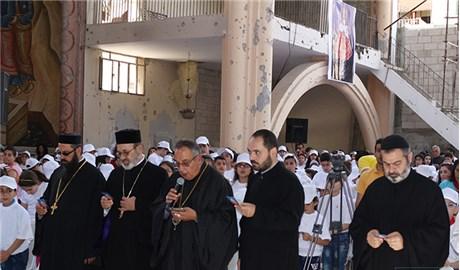 Tái thánh hiến nhà thờ Chánh tòa giáo phận Homs