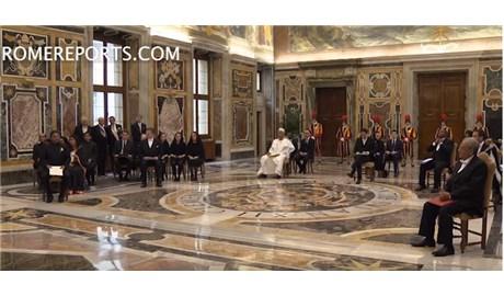 Đức Thánh Cha tiếp kiến 7 tân đại sứ