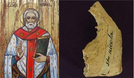 Phát hiện thánh tích của thánh Nicolas