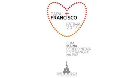 Logo chuyến tông du của Đức Phanxicô đến Fatima