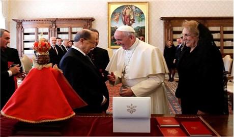 Đức Phanxicô tiếp Tổng thống Li-băng