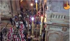 Lễ Lá tại nhà thờ Mộ Chúa