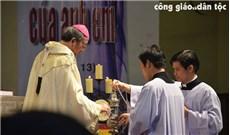 Thánh lễ Truyền Dầu tại nhà thờ Đức Bà