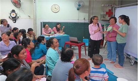 Tương trợ giúp trẻ đến trường
