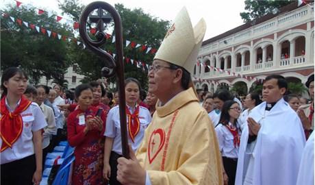 Đại lễ Lòng Thương Xót Chúa tại Tổng Giáo phận TPHCM
