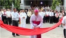 Khánh thành và làm phép nhà Mục vụ Thánh Gioan Phaolô II tại giái xứ Trung Bắc