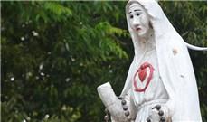 Tượng Đức Mẹ Fatima tại Măng Đen
