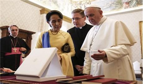 Vatican và Myanmar thiết lập quan hệ ngoại giao