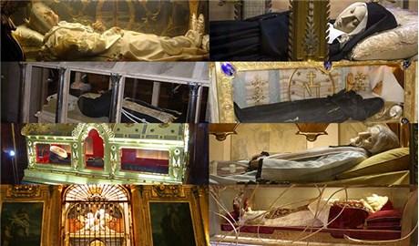 Những vị thánh  thân xác vẫn nguyên vẹn nhiều năm sau khi qua đời