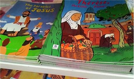Học tiếng Anh cùng con qua sách các Thánh