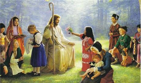 Có nên cho con trẻ chơi điện thoại trong thánh lễ ?