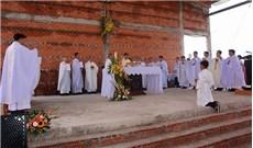 Thánh lễ xây dựng nhà thờ La Vang - giáo họ Cần Giuộc