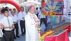 Lễ đặt viên đá đầu tiên xây tòa nhà Báo Công Giáo Và Dân Tộc