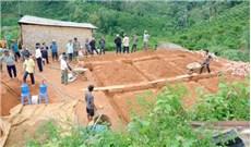 Giáo hạt Di Linh xây nhà tình thương