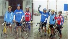 Người đàn ông hành hương qua 26 giáo phận bằng xe đạp