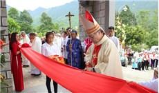 Thánh lễ làm phép nhà thờ và cung hiến bàn thờ giáo xứ Hói Dừa