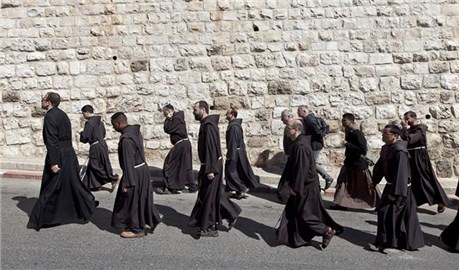 Dòng Phanxicô kỷ niệm 800 năm ở Thánh Địa