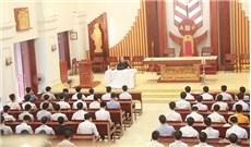 Họp mặt chủng sinh Giáo phận Thái Bình năm học 2017-2018