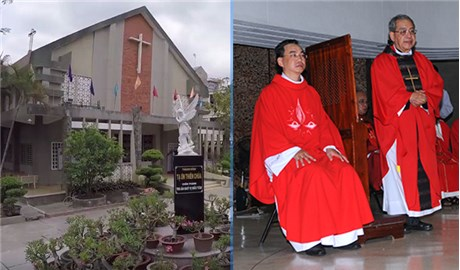 Linh mục Phaolô Nguyễn Phong Phú nhận xứ Thanh Đa