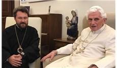 ĐỨC TỔNG GIÁM MỤC CHÍNH THỐNG GIÁO NGA HILARION YẾT KIẾN ĐỨC BÊNÊĐICTÔ XVI