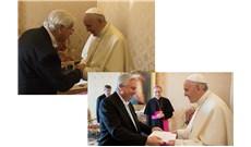 Đức Giáo Hoàng tiếp kiến tân đại sứ Uruguay và Lebanon