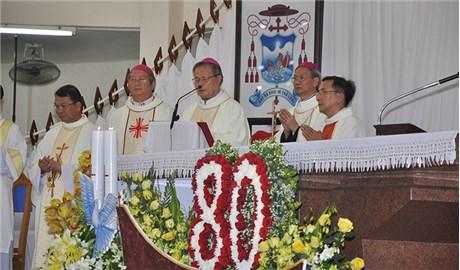 Kỷ niệm 80 năm thành lập  giáo phận Vĩnh Long