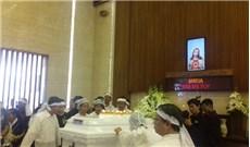 Thánh lễ an táng cụ bà Maria Bùi Thị Túy