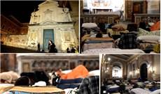 Hoạt động bác ái  những ngày đầu năm tại Rôma