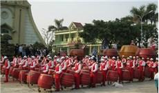 Xứ đạo Bồng Tiên, không chỉ nổi tiếng về trống