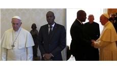 Đức Giáo Hoàng tiếp các lãnh đạo CH Trung Phi và Haiti