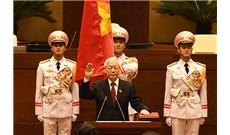 Quốc hội bầu Tổng Bí thư Nguyễn Phú Trọng giữ chức Chủ tịch nước