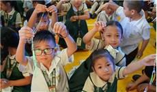 Một triệu trẻ em đọc kinh Mân Côi cầu nguyện cho hòa bình