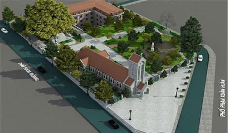 Khởi công xây dựng nhà mục vụ và khuôn viên nhà thờ Sapa