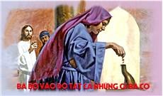HỌC HỎI PHÚC ÂM CHÚA NHẬT XXXII THƯỜNG NIÊN NĂM B
