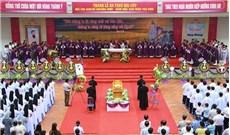 Cải táng Ðức cố Giám mục Santos Ubierna Ninh