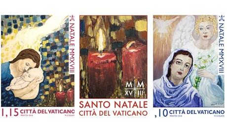 Tù nhân vẽ tem cho Vatican