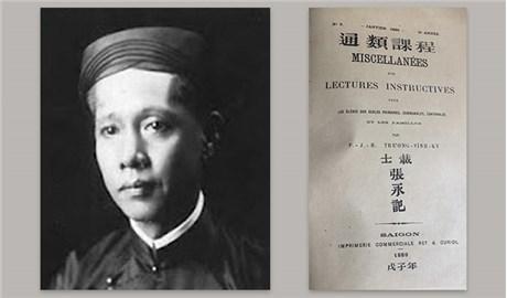 Người đầu tiên ghi nhận công trình của linh mục Ðặng Ðức Tuấn