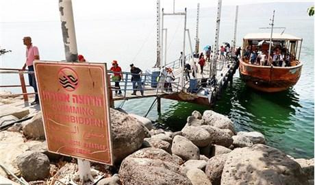 Biển hồ Galilê trước nguy cơ biến mất
