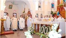 Thánh lễ kỷ niệm 100 năm nhà thờ giáo xứ Lường Xá