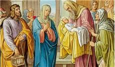 Dâng Chúa giêsu vào đền thờ, lễ -