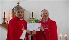 Thánh lễ thành lập giáo xứ mới Minh Tú