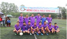 Giải bóng đá Hiệp Nhất II - 2018
