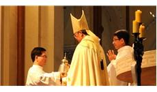 Thánh lễ Truyền Dầu cuối cùng của Đức Tổng Giám mục Phaolô Bùi Văn Đọc