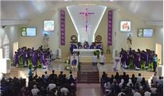 Lễ giỗ Đức cha Giuse Vũ Duy Thống tại giáo xứ Cao Thái