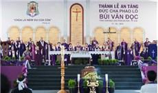 ÐỨC TỔNG PHAOLÔ ÐÃ AN NGHỈ TRONG LÒNG ÐẤT MẸ: TƯỜNG THUẬT TANG LỄ ÐỨC TỔNG GIÁM MỤC PHAOLÔ BÙI VĂN ÐỌC