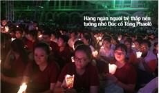 ĐẠI HỘI GIỚI TRẺ TGP.TPHCM: hàng ngàn người trẻ thắp nến tưởng nhớ Đức cố Tổng Phaolô