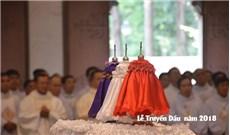 Thánh lễ Truyền Dầu tại Vương cung Thánh đường Đức Bà Sài Gòn